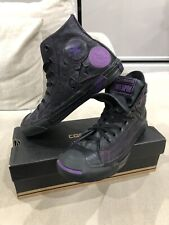 NEW Rare CONVERSE Jack Purcell Leather Hi Tops 'Weapon' US 5.5 Mens [C49]