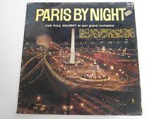 PAUL MAURIAT - PARIS BY NIGHT - Bel Air  France LP