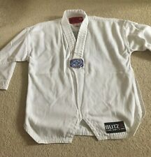 Kids Children Taekwondo Top Uniform Jacket Size 110 cm age 4-8 years by BLITZ