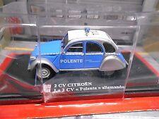 CITROEN 2CV 2 CV Ente Polente Polizei Auto Plus Altaya De Agostin S-Preis 1:43