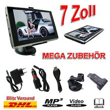 17,8cm 7 Zoll MEDIATEK Navigation GPS Navigationsgerät 3D Europa PKW/LKW 4GB TOP