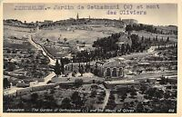 BR72686 jerusalem the garden of gethsemane and the mount of olives israel