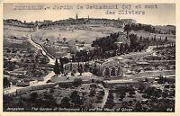 BR72686 jerusalem the garden of gethsemane and the mount of olives israel