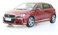 1/18 Scale CITROEN DS 4S 2016 Red Diecast Car Model Toy Collection