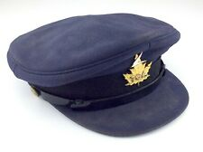 Trans Canada Airline TCA Pilot Hat W Scully 1202 University St Montreal M757QM