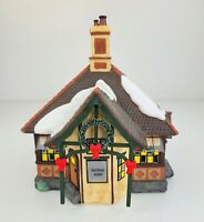 Dept 56 Village London Skating Club Ice Skating Rental BUILDING ONLY Replacement