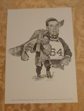 Art Devlin Print Robert Riger Drawing Vintage Frameable Print Olympic Skiing