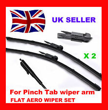 Vauxhall Corsa D 2006_ON Front Specific Aero Flat Wiper Blades 26/16 (FB651)