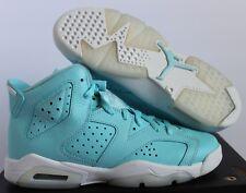 Nike Air Jordan 6 Retro GG Still Blue-White SZ 5Y//WOMEN SZ 6.5 [543390-407]