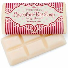 CHOCOLATE BAR SHAPED SOAP Body Hand and Bath Wash Novelty Stocking Filler Gift