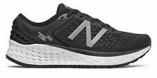 Новый баланс женские свежие пены 1080v9 туфли черный с белым