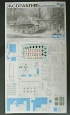 Dragon 1/35 Scale Jagdpanther Late Production Decals from Kit No. 6393