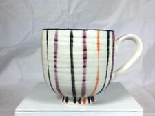 New listing Delightful Anthropologie Leah Goren Poppy Stripes & Flower Mug
