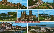 postcard  Kent Beaty spots of Kent un  posted