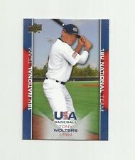 2009 UD USA BASEBALL #USA-42 TONY WOLTERS RC NM-MT