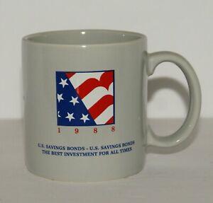 Vintage 1988 Boeing U.S. Savings Bond Collectible Coffee Mug