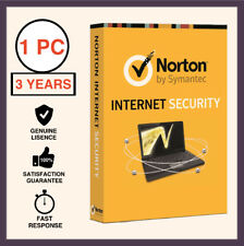 Norton Internet Security Premium Antivirus 2018 1 PC 3 Years - Global License