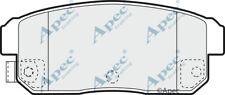 PAD1369 GENUINE APEC REAR BRAKE PADS FOR MAZDA RX-8