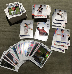 2004 Baseball Lot of 168 Cards: Topps Chrome, SP & Rookie / Traded MVPs Rookies