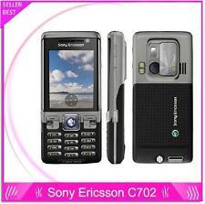 Original Sony Ericsson C702 Unlocked Cell Phone GPS 3G 3.15MP Camera Bluetooth