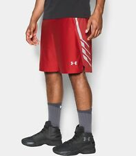 "Under Armour UA Team 9"" Men's Basketball Shorts 1302384-600 Large NWT $40"