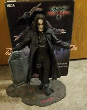 The Crow Movie Eric Draven Resin Statue NECA Reel Toys Very Rare Damaged AS-IS