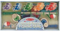 Melissa & Doug CATCH AND COUNT FISHING GAME Learning Wooden Toy/Game Child BN