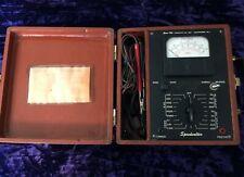 Vintage Antique Servo Tek Speedvolter Voltage Tester