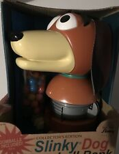 SLINKY COLLECTOR'S EDITION SLINKY DOG GUMBALL MACHINE NEW IN BOX