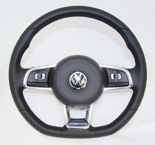 NEW GENUINE VW GOLF 7 POLO SCIROCCO COMPLETE MULTIFUNCTION STEERING WHEEL