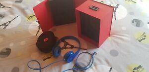 Beats by Dr. Dre Solo HD Casque Audio - Bleu avec boite et accessoires