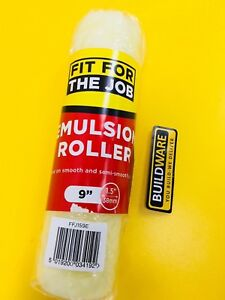 """FFJ EMULSION ROLLER 9"""" x 1.5"""" FOR SMOOTH AND SEMI-SMOOTH SURFACES"""