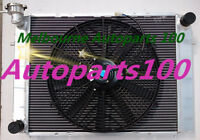 For Holden Commodore Radiator Manual + Fan VG VL VN VP VR VS V8 Aluminum