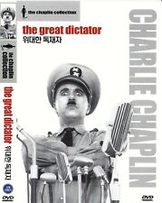 The Great Dictator (1940) Charles Chaplin / Paulette Goddard DVD NEW *FAST SHIP