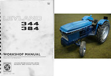 Leyland 344 384 Tractor Service Repair Workshop Manual Cd