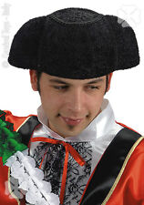 Chapeau de toréador imitation astrakan [5730] carnaval deguisement costume show