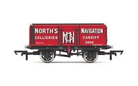 Hornby R6904 OO Gauge 7 Plank Wagon Norths Navigation