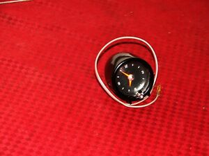 60-66 CHEVROLET GMC TRUCK SUBURBAN TOP OF DASH  GM ACCESSORY CLOCK