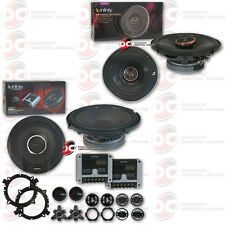 "Infinity Reference 6.5"" 2-Way Component System + 6.5"" 2-Way Car Coaxial Speakers"