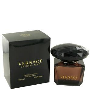 Versace Crystal Noir 3 oz / 90 ml EDT Spray Eau de Toilette Perfume for Women