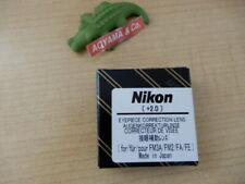 Nikon Diopter Eyepiece Correction Lens FA +2.0
