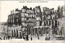 CPA MILITAIRE Lille-Entrée de la rue Faidherbe (317009)