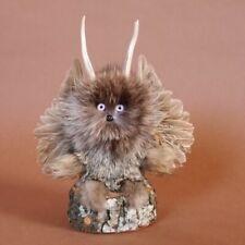 kleines Wolpertinger Wolpi Präparat taxidermy mit graue Augen Geschenk Deko Neu