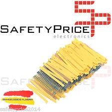50x RESISTENCIAS 220 OHM 1% 1/4w 0,25w carbon film pelicula Electronica Arduino