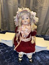 Antique Armand Marseille Germany Bisque Doll Head 990 A 4 M Rare Beautiful 21�