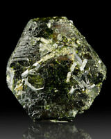"2.8"" Lustrous Green EPIDOTE Sharp Tabular ""Hexagonal"" Crystals Pakistan for sale"