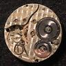Vintage 1916 Illinois Burlington Grade 36 Pocket Watch Movement 3/0s 17j USA