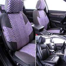 Universal Car Seat Covers Auto Seat Protector Linen For Kia Audi Toyota VW Ford