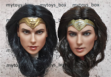 1/6 NEW Wonder Woman Gal Gadot Head Sculpt Female Training Body Hot Toys Phicen