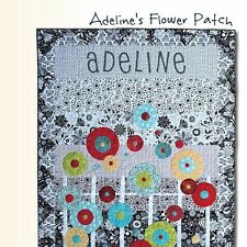 NEW BOOK: Adeline's Flower Patch: A Quilt Pattern Book of Fun